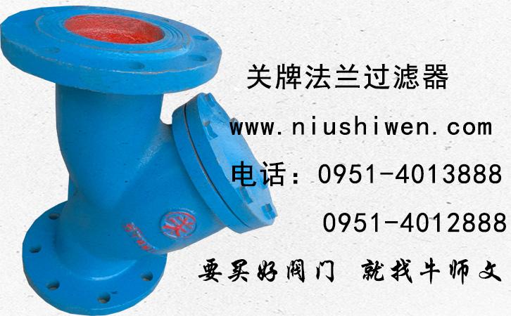 【關牌】GL41法蘭過濾器 16公斤