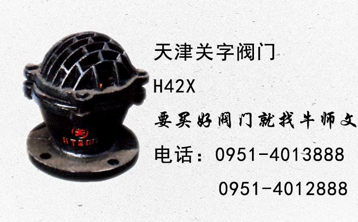【關牌】H42X法蘭底閥 (法蘭式)10公斤